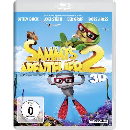 Ben Stassen - Sammys Abenteuer 2 3D [3D Blu-ray] - Preis vom 10.05.2021 04:48:42 h