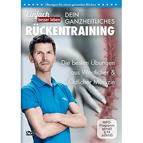 - Dein ganzheitliches Rückentraining – Die 25 besten Übungen gegen Rückenschmerzen: DVD mit Rückenübungen, für jedes Alter und Fitnesslevel - Preis vom 06.09.2020 04:54:28 h