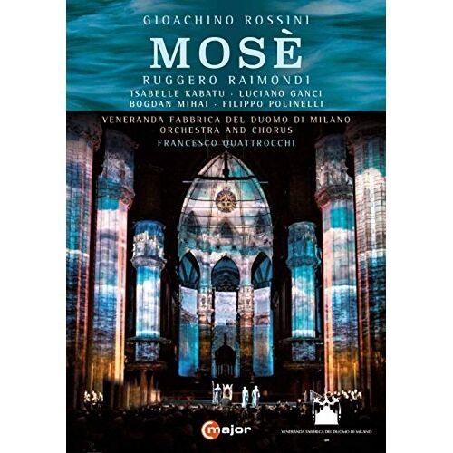 Gioachino Rossini - Rossini: Mosé (Duomo di Milano, 2015) [DVD] - Preis vom 19.10.2020 04:51:53 h