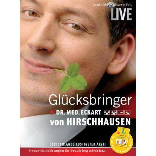Hirschhausen, Eckart von - Eckart von Hirschhausen - Glücksbringer [2 DVDs] - Preis vom 09.04.2021 04:50:04 h