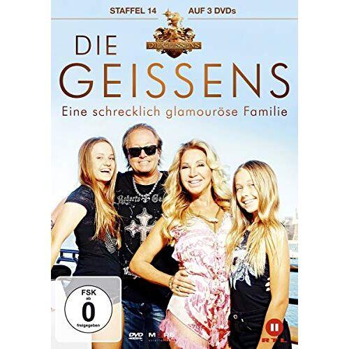 Familie Geiss - Die Geissens - Staffel 14 [3 DVDs] - Preis vom 18.10.2020 04:52:00 h