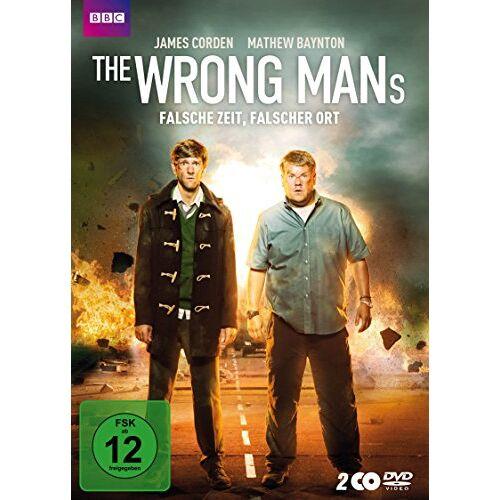 Mathew Baynton - The Wrong Mans - Falsche Zeit, falscher Ort [2 DVDs] - Preis vom 15.04.2021 04:51:42 h