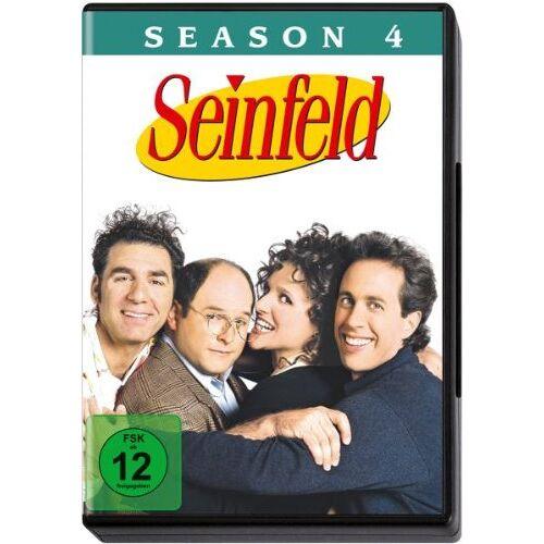Tom Cherones - Seinfeld - Season 4 [4 DVDs] - Preis vom 17.11.2020 05:49:32 h