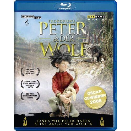 Suzie Templeton - Peter & der Wolf [Blu-ray] - Preis vom 20.10.2020 04:55:35 h