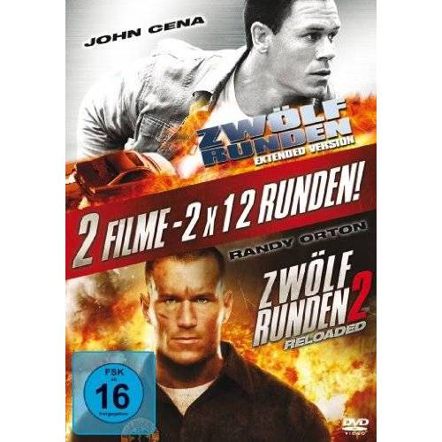 Renny Harlin - Zwölf Runden / Zwölf Runden 2 - Reloaded [2 DVDs] - Preis vom 04.10.2020 04:46:22 h