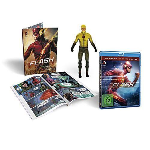 - The Flash Staffel 1 (inkl. Comicbuch + Figur) [Blu-ray] [Limited Edition] - Preis vom 05.09.2020 04:49:05 h