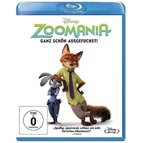 Byron Howard - Zoomania [Blu-ray] - Preis vom 28.02.2021 06:03:40 h
