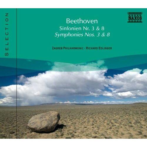 Edlinger - Symphonie Nr. 3+8 - Preis vom 13.06.2021 04:45:58 h