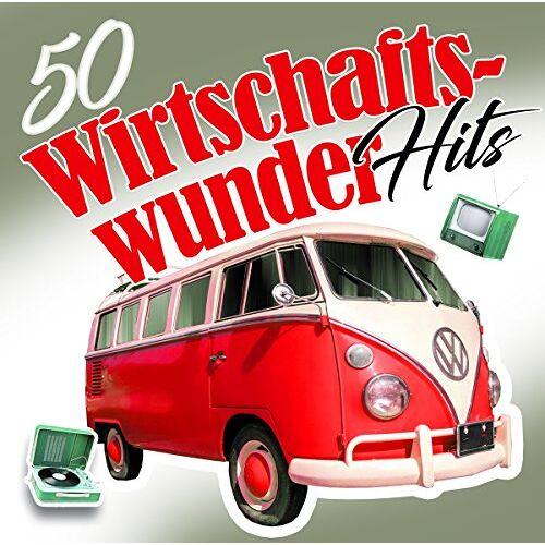 Various - 50 Wirtschaftswunder Hits - Preis vom 02.08.2021 04:48:42 h