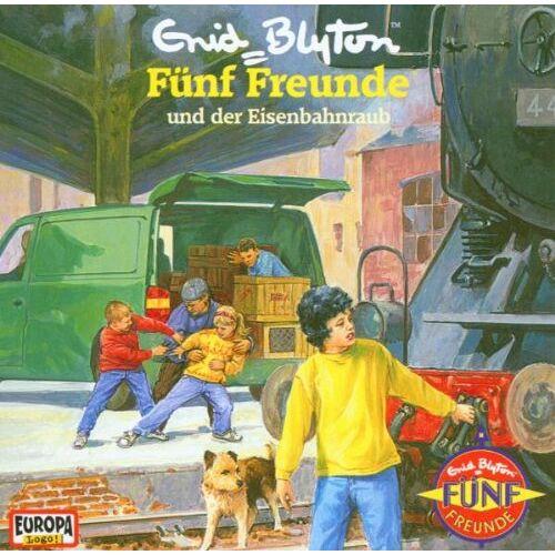 Fünf Freunde 51 - Fünf Freunde - Folge 51: Der Eisenbahnraub - Preis vom 24.07.2021 04:46:39 h