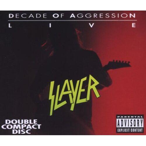 Slayer - Decade of Aggression (Live) - Preis vom 31.07.2021 04:48:47 h