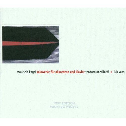 Teodoro Anzelotti - Solowerke für Akkordeon und Klavier - Preis vom 22.06.2021 04:48:15 h
