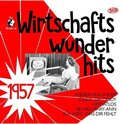 Various - Wirtschaftswunderhits 1957 - Preis vom 02.08.2021 04:48:42 h