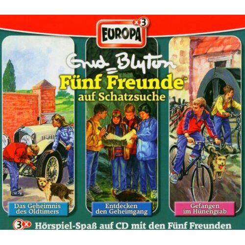 Fünf Freunde auf Schatzsuche - 03/3er Box-auf Schatzsuche - Preis vom 15.06.2021 04:47:52 h
