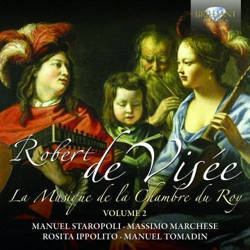 Manuel Staropoli - La Musique de la Chambre du Roy,Vol.2 - Preis vom 13.06.2021 04:45:58 h