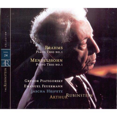 Artur Rubinstein - The Rubinstein Collection Vol. 24: Klaviertrios - Preis vom 11.06.2021 04:46:58 h