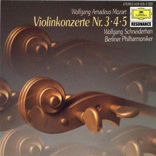 Wolfgang Schneiderhan - Violinkonzerte 3-5 - Preis vom 21.06.2021 04:48:19 h