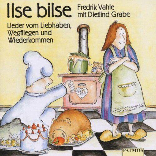 Fredrik Vahle - Ilse Bilse. CD: Lieder vom Liebhaben, Wegfliegen und Wiederkommen - Preis vom 11.06.2021 04:46:58 h