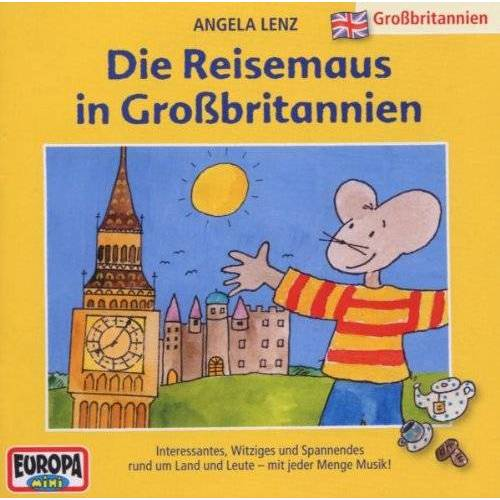 Angela Lenz - 09/Die Reisemaus in Grossbritannien - Preis vom 14.06.2021 04:47:09 h