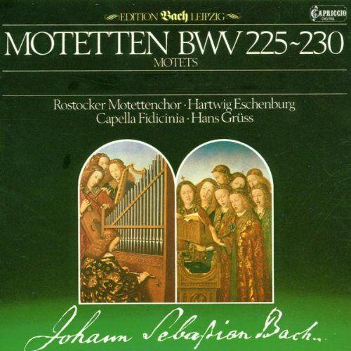 Gruess - Motetten Bwv 225-230 - Preis vom 23.09.2021 04:56:55 h