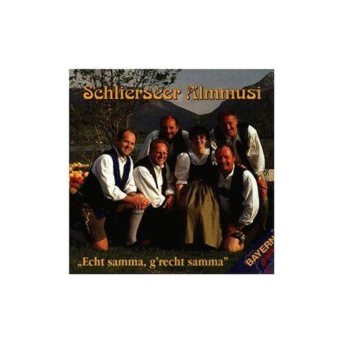 Schlierseer Almmusi - Echt Samma, G Recht Samm - Preis vom 18.06.2021 04:47:54 h