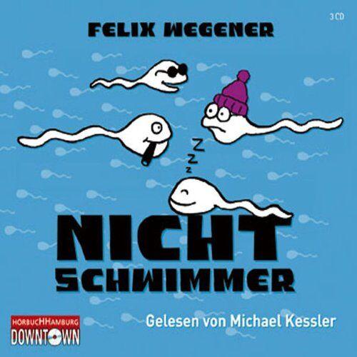 Felix Wegener - Nichtschwimmer (3 CDs) - Preis vom 13.06.2021 04:45:58 h
