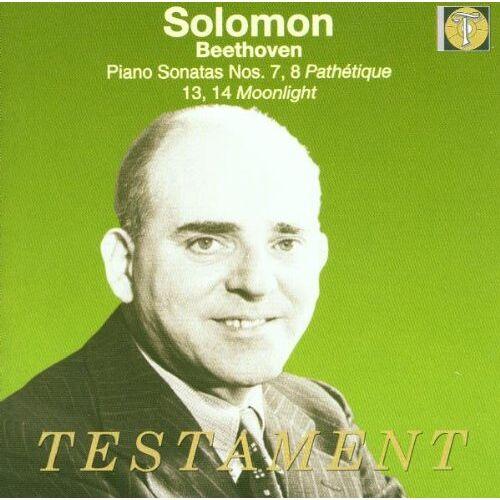 Solomon - Solomon spielt Beethoven (Sonaten Nr. 7, 8, 13, 14) (Aufnahmen 1951-1956) - Preis vom 30.07.2021 04:46:10 h