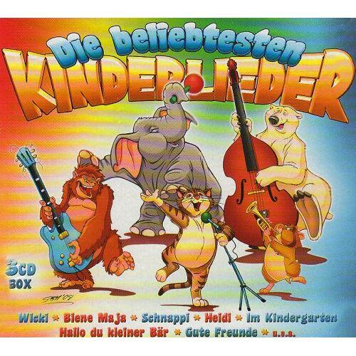 Various - Die Beliebtesten Kinderlieder - Preis vom 11.06.2021 04:46:58 h