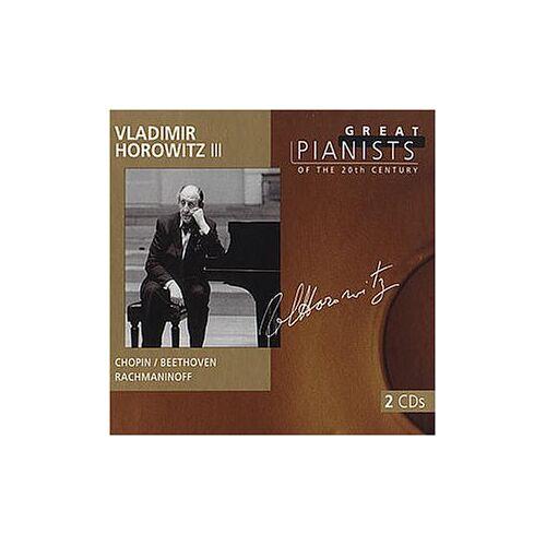 Vladimir Horowitz - Great Pianists: Horowitz Vol. 3 - Preis vom 20.06.2021 04:47:58 h