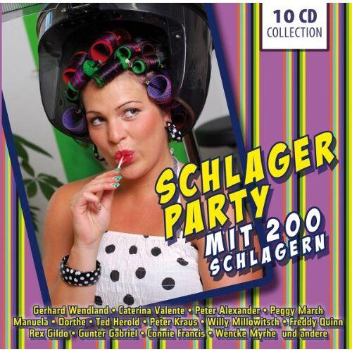 Various - Schlagerparty mit 200 Schlagern - Preis vom 31.07.2021 04:48:47 h