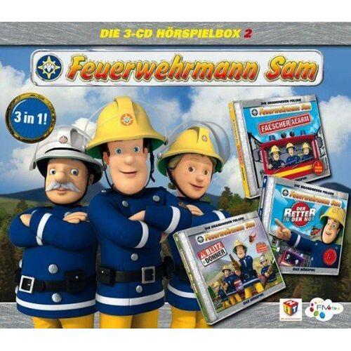 Feuerwehrmann Sam - Feuerwehrmann Sam-Hörspiel Box 2 - Preis vom 11.09.2021 04:59:06 h