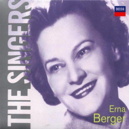 Erna Berger - The Singers Vol.17 - Preis vom 20.06.2021 04:47:58 h