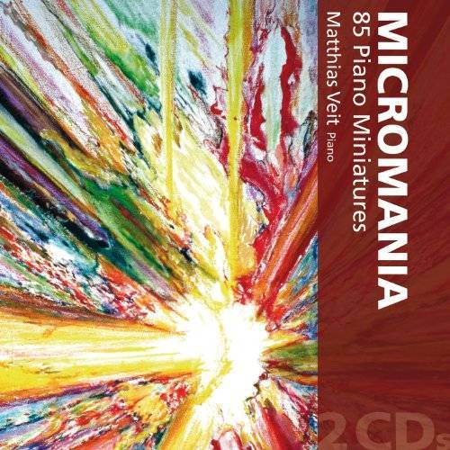 Matthias Veit - Micromania - 85 Klavierminiaturen - Preis vom 19.06.2021 04:48:54 h