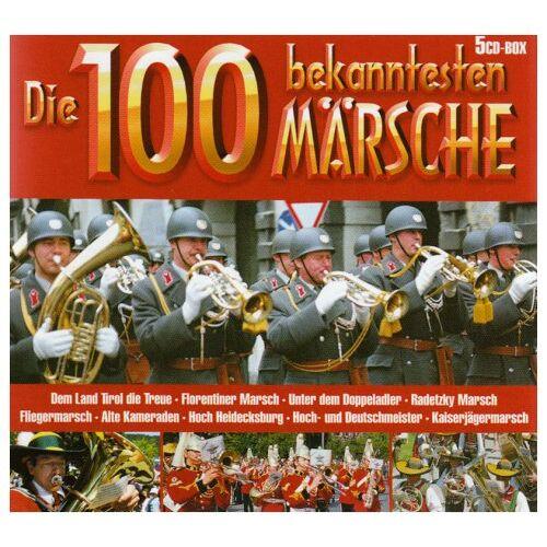 Various - Die 100 Bekanntesten Märsche - Preis vom 09.06.2021 04:47:15 h