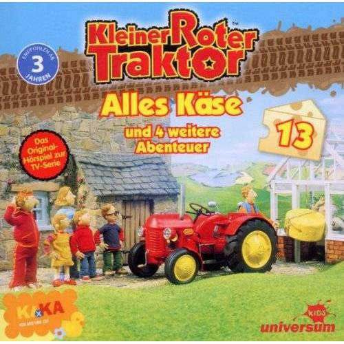 Kleiner Roter Traktor 13 - Kleiner Roter Traktor 13 Audio:Alles Käse Und 5 We - Preis vom 21.06.2021 04:48:19 h