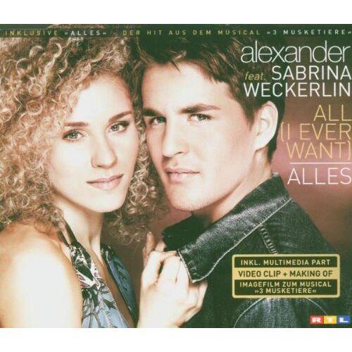 Sabrina Alexander Ft.Weckerlin - All (I Ever Want)/Alles - Preis vom 19.06.2021 04:48:54 h
