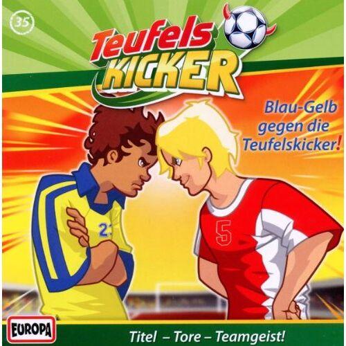 Teufelskicker - 35/Blau-Gelb Gegen die Teufelskicker! - Preis vom 09.06.2021 04:47:15 h