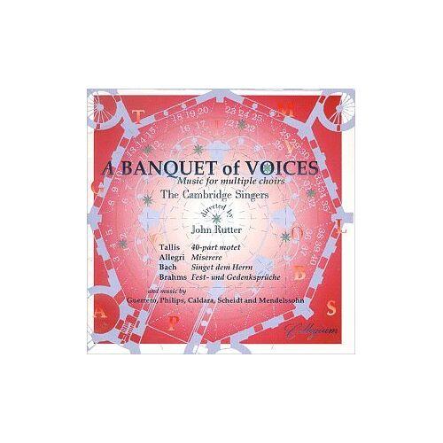 Rutter - A Banquet of Voices-Rutter - Preis vom 16.06.2021 04:47:02 h