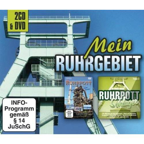 Various - Mein Ruhrgebiet (2CD+DVD) - Preis vom 02.08.2021 04:48:42 h