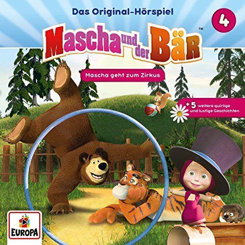 Mascha und der Bär - 004/Mascha geht zum Zirkus - Preis vom 22.06.2021 04:48:15 h