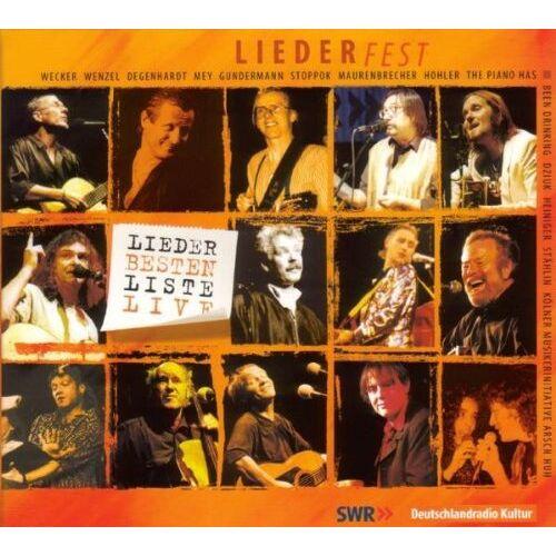 Various - Liederfest-Liederbestenliste Live - Preis vom 12.06.2021 04:48:00 h