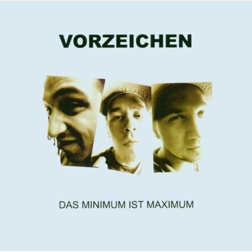 Vorzeichen - Das Minimum Ist Maximum - Preis vom 11.06.2021 04:46:58 h