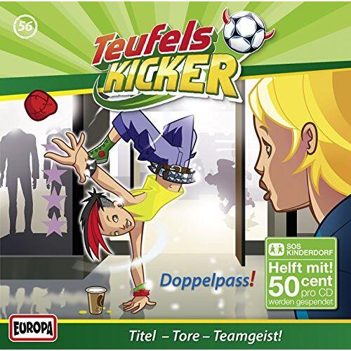 Teufelskicker - 056/der Doppelpass! - Preis vom 18.05.2021 04:45:01 h