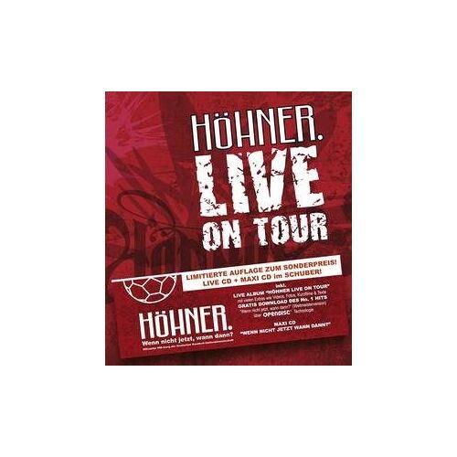 Höhner - Höhner Live on Tour-Limited - Preis vom 12.06.2021 04:48:00 h