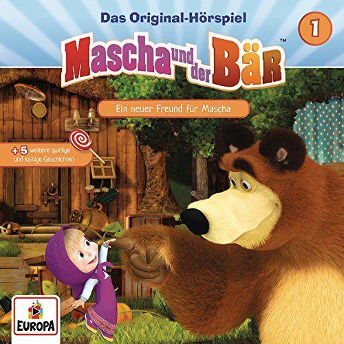 Mascha und der Bär - 001/Ein Neuer Freund für Mascha - Preis vom 22.06.2021 04:48:15 h