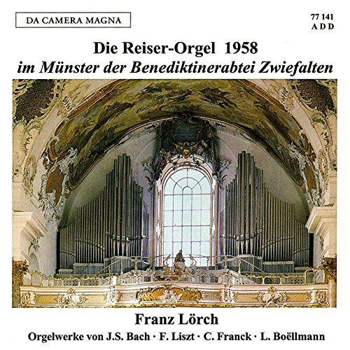 Franz Lörch - Die Reiser-Orgel 1958 im Münster der Benediktiner-Abtei Zwiefalten - Preis vom 19.06.2021 04:48:54 h