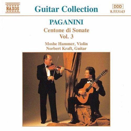 Moshe Hammer - Paganini Gitarren- und Violinsonate Vol 3 - Preis vom 09.06.2021 04:47:15 h