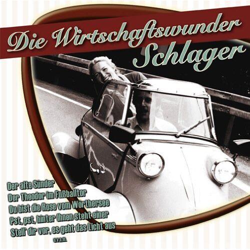 Various - Die Wirtschaftswunder Schlager - Preis vom 02.08.2021 04:48:42 h