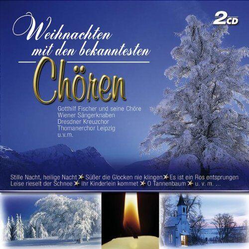 Various - Weihnachten Mit Den Bekanntesten Chören - Preis vom 09.06.2021 04:47:15 h