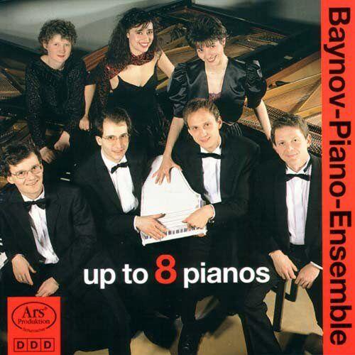 Ensemble Up to 8 Pianos - Preis vom 19.06.2021 04:48:54 h